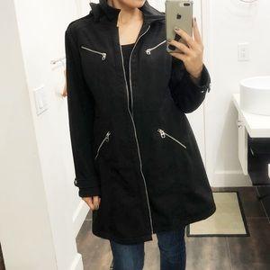Miss 60 black coat. Size XL